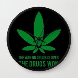 The Drugs Won (2) Wall Clock
