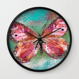 Create What Sets Your Heart On Fire Wall Clock