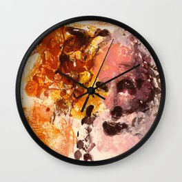 Oak Man Wall Clock