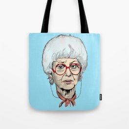 Sophia Petrillo from The Golden Girls (Blue) Tote Bag
