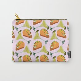 Tacos y Margaritas Pattern Carry-All Pouch
