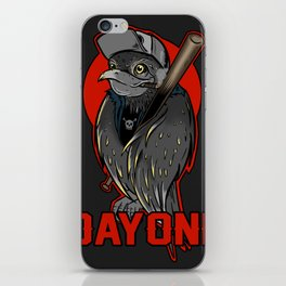 Bad bird iPhone Skin