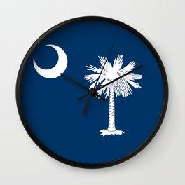 Flag of South Carolina - Authentic High Quality Image Wall Clock