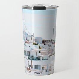Greek holiday Travel Mug