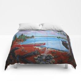 Muskoka Pleasures Comforters
