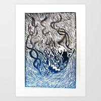Darkball Art Print