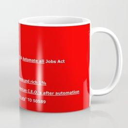 Tax Cuts & Jobs Act Coffee Mug
