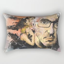 Voices In My Head Rectangular Pillow