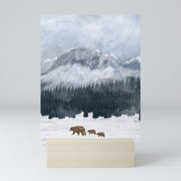 nature will find a way Mini Art Print