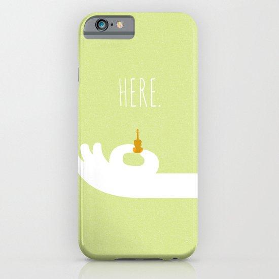 World's Smallest Violin iPhone & iPod Case
