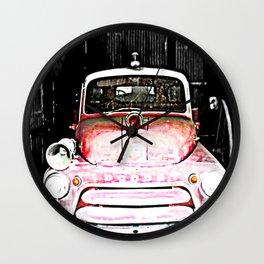 Dodge fire Truck Wall Clock
