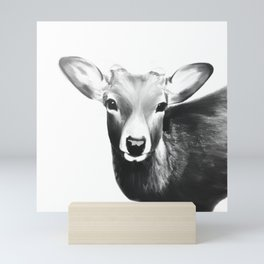 Kawaii deer Mini Art Print