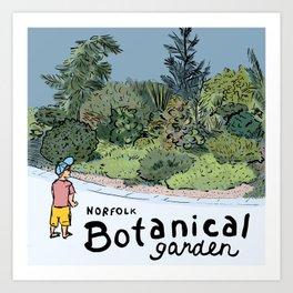 Norfolk Botanical Garden Art Print