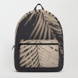 Palm Leaves Sepia Vibes #1 #tropical #decor #art #society6 Backpack