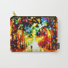 Tardis Art Painting Starry Night Carry-All Pouch