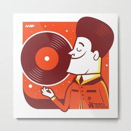 UNDO |Music to the people 08 Metal Print