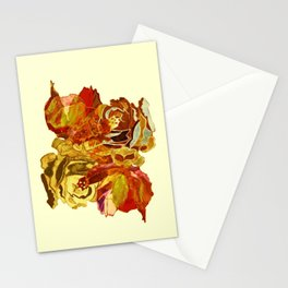 roses meli melo Stationery Cards