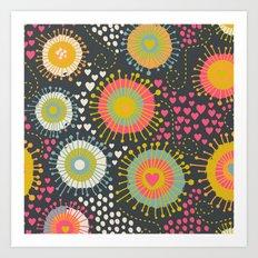 abstract organic texture Art Print