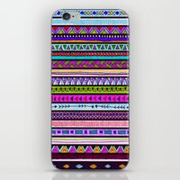 the dude iPhone & iPod Skins featuring Dude by Erin Jordan