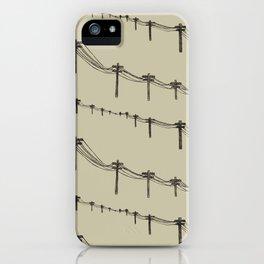 Metal Trees iPhone Case