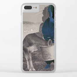 What does the world look like without anxiety and fear? Clear iPhone Case