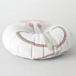 Nyquist Bandwidth Floor Pillow