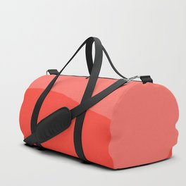 Living Coral Sushi Salmon Abstract Duffle Bag