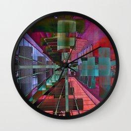 MAGIC CITY LINES Wall Clock