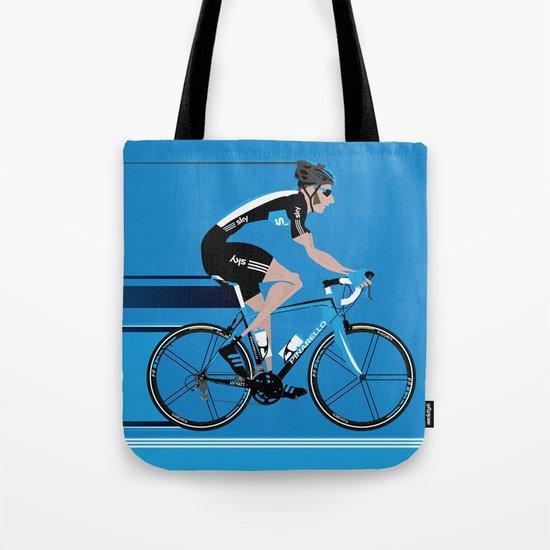 Bradley Wiggins Team Sky Tote Bag
