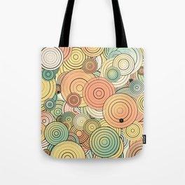 Layered circles Tote Bag