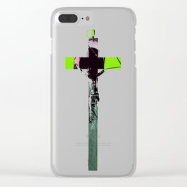 Industrial Electric Musings Clear iPhone Case