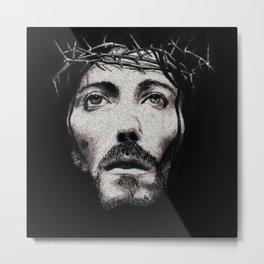 Jesus Crown - 219 Metal Print