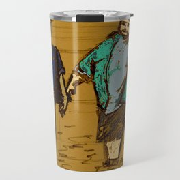 out the hatch Travel Mug