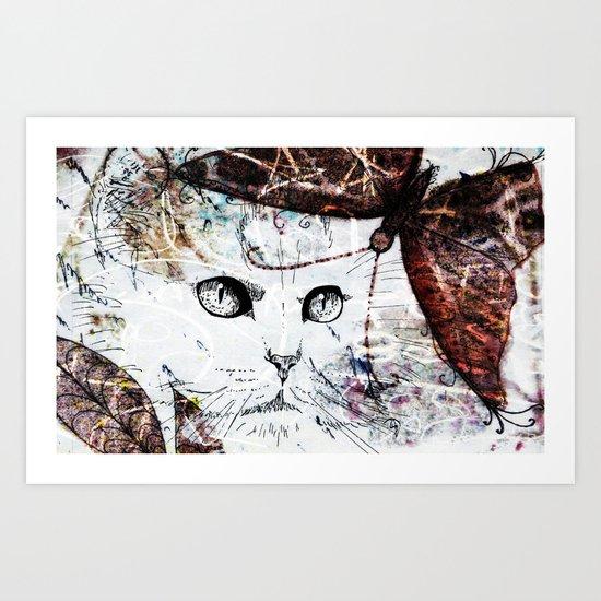 Miaow! Art Print