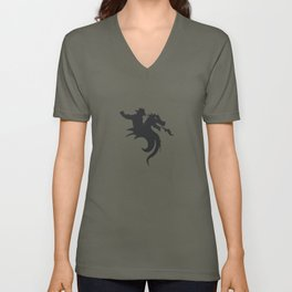 Dragon Rodeo Unisex V-Neck