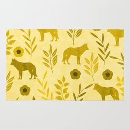 Forest Animal and Nature III Rug