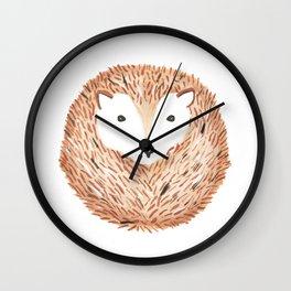 Hérisson. Wall Clock