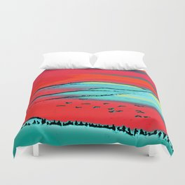 Danube Sunrise Duvet Cover
