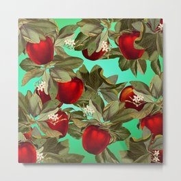 Lush Apples Metal Print
