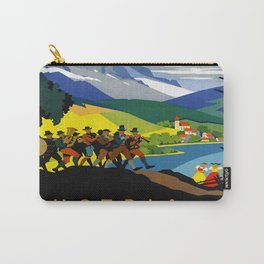 Austria - Vintage Travel Ad Carry-All Pouch