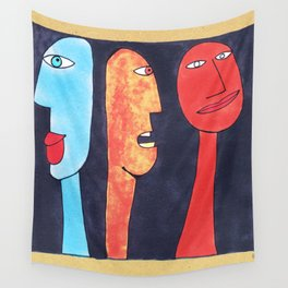 - threesome #2 - Wall Tapestry