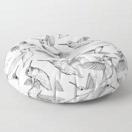 Hummingbirds Floor Pillow