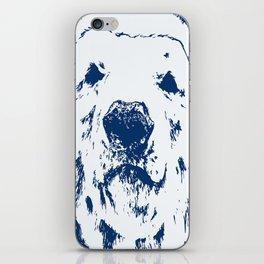 frank the Polar bear (Colour edits) iPhone Skin