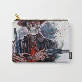 The Gunslinger - Dia De Los Muertos Carry-All Pouch