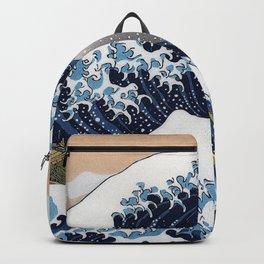"Hokusai , "" The Great Wave off Kanagawa "" Backpack"