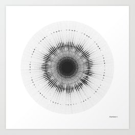 Sound of Sputnik-1 / Спутник-1 Art Print
