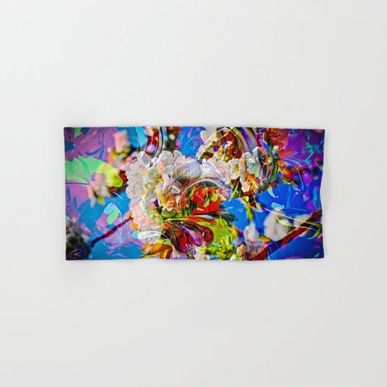 Abstract Perfection 14  Spring Hand & Bath Towel