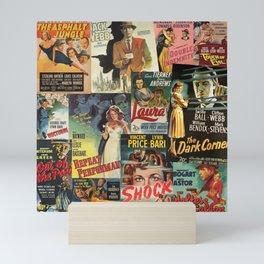 Film Noir Mini Art Print