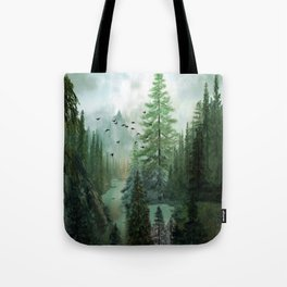Mountain Morning 2 Tote Bag