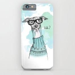 Funny Greyhound iPhone Case